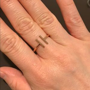 Jewelry - Open T Ring